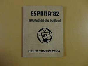 1982 FIFA Soccer World Cup Coin Set 1980 (*81) Spain Espana Mundial de Futbol