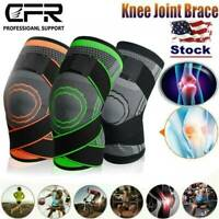 3D Weaving Knee Brace Support Protect Compression Running Support Arthritis Wrap
