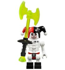 LEGO NINJAGO KRAZI SKYBOUND SKELETON MINIFIGURE w/ Weapon AUTHENTIC NEW 70592