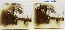 MONACO INSTALLA CARLO Costa d'Azur STEREO Targa per lente positivo 6x13cm, 1913