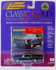 Johnny Lightning R6 Classic Gold Collection 1967 Pontiac Gto Exclusive