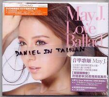 May J.: Love Ballad (2014) Japan / CD & DVD & 36p BOOKLET TAIWAN