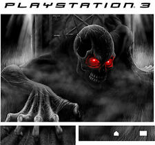 PlayStation 3 PS3 Demon rot Augen Vinyl Sticker Hülle