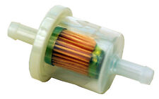 """FILTER FUEL FOR BRIGGS & STRATTON (7998) Fits 1/4"""" Fuel line RPL:B&S 493629,5065"""