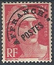 1922-51 FRANCIA PREANNULLATI 6 F MH * VARIETà DOPPIO CERCHIO - FR742
