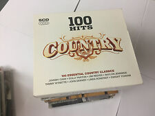 Various Artists : 100 Hits: Country (5CDs) (2007)