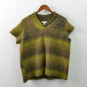 Coldwater Creek Wool Blend Sweater Short Sleeve Womens 3X Plus