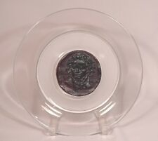 Limited Edition Daum Pate de Verre Beethoven Art Glass Display Plate
