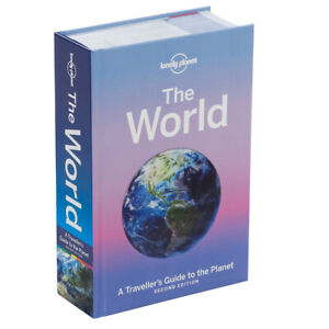 The World: Lonely Planet A Traveller's Guide to the Planet Hardcover 2nd Ed NEW
