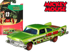 HOT WHEELS – PLYMOUTH FURY '57 – GDG85 – MICKEY MOUSE – MICKEY'S GARDEN