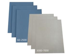 Schleifpapier Wasserfest Nass & Trocken Papier 23x28cm Wasserschleifpapier Lack