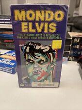 Mondo Elvis 1984 Rhino Video VERY RARE BETA TAPE BETAMAX NOT VHS Elvis Presley