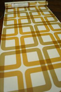 Tapetenrolle 70er Tapete Vintage Retro Ornamente Wallpaper 60er 1/4 36