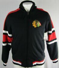 Chicago Blackhawks Men's NHL G-III Full Zip Black Embroidered Hoodie