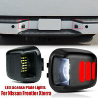 US 2Pcs Replacemnt LED License Plate Lights Lamps Set For Nissan Frontier Xterra