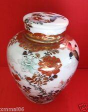 Vintage Kutani  Tea caddy/Ginger Jar