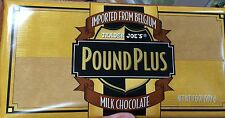 TRADER JOE'S Pound Plus Belgium Milk Chocolate Bar 17.6 Oz
