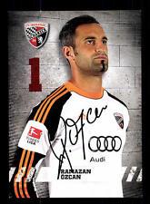 Ramazan Özcan Autogrammkarte FC Ingolstadt 2013-14 Original Signiert+A 144809