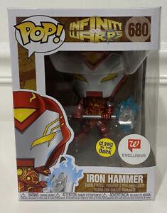 Funko POP Infinity Warps Iron Hammer 680 Glow In The Dark ( walgreen's )