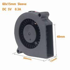 60mm 6cm Blower Fan 5V 60x15mm Brushless DC Centrifugal Cooling Cooler Fan 2pin