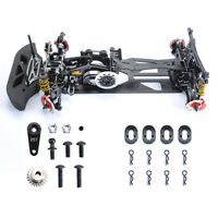 1:10 4WD RC Drift Car G4 Alloy&Carbon Fiber Frame Kit Racing Body Model Chassis