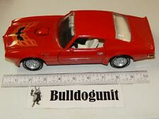 1973 Red Firebird Trans Am Model Diecast Car ERTL  1:18  American Muscle '73 73