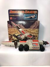 1978 Battlestar Galactica Missile Firing Colonial Scarab 100% Complete With Box