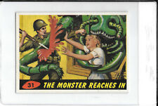 1962 Mars Attacks #31 The Monster Reaches In *Ungraded*