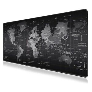 Extended Large High-Performance Anti-Fray Gaming Mouse Pad Computer Keyboard Mat
