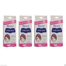 Kao Biore Nose Cleansing Strips Pore Pack | Remove Unclog Blackhead Japan | 4 PK