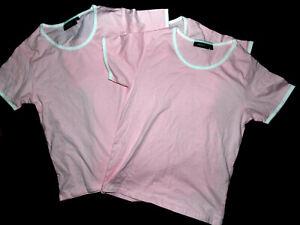 3 Frauen T-Shirt in Gr. S von Hanes Baumwolle in ROSA
