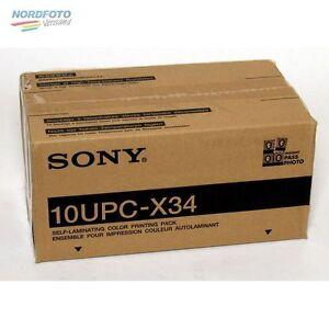 SONY UPC X 34 (Fotolusio) für UPX-C300 10x 30 Blatt 7x9,5 cm
