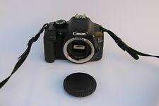 Canon 550D DSLR Camera and accessories.