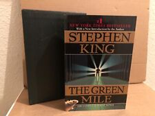 The Green Mile by Stephen King 1997, Paperback w/Slipcase First Edition Horror