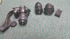 Nikon D90 DSLR Camera, 18-55MM, 18-200mm, AND NIKKOR 70-210MM - FAST FREE SHIP!!