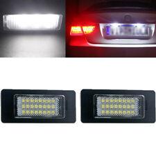 2x 24 LED License Plate Number Lights For BMW E90 E92 E70 E39 F30 E60 E61 E93 US
