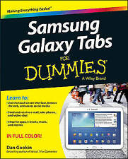 Samsung Galaxy Tabs For Dummies by Dan Gookin (Paperback, 2013)