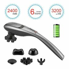 20 Speed Handheld Vibrator Wireless Wand Massager Personal Neck Back Pain Relief