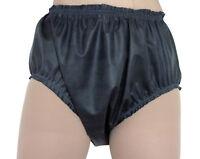 Rubber Pants Knickers Baggy Adult Baby Black Latex Waterproof Panties Roleplay