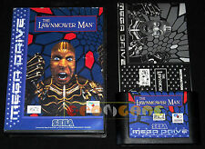 THE LAWNMOWER MAN MegaDrive Mega Drive Versione Europea PAL ••••• COMPLETO