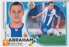 N°13 ABRAHAM # ESPANA RCD.ESPANYOL TERRASSA.CF STICKER CROMO PANINI LIGA 2015