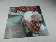 Vinyle 33 tours, Alive and screamin', Krokus
