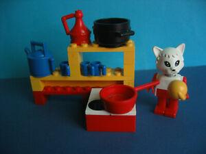 Lego Fabuland konvolut mit seltenen roten Telefon