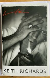 """KEITH RICHARDS SIGNED BOOK """"LIFE"""" 1ST EDITION, SIGNED IN PERSON AT WATERSTONES"""