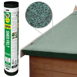 IKO Super Shed Felt   Green 8m x 1m   Garden Roofing Felt Bitumen Roof Sheet