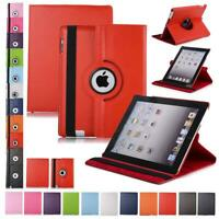 360 Leather Folio Case Cover Stand Auto Sleep/Wake For Samsung Galaxy Tab / IPAD