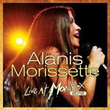 ALANIS MORISSETTE - LIVE AT MONTREUX 2012  CD 15 TRACKS POP INTERNATIONAL NEW+