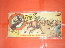 TEX STRISCIA ORIGINALE n° 3 -del 1956-12° SERIE topazio  -no araldo o zagor