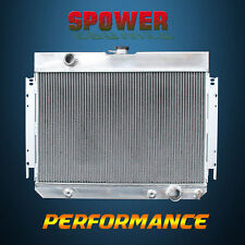 3-Row/CORE Aluminum Radiator For Chevrolet Bel Air Biscayne Chevelle L6 V8 63-68