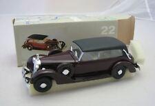 RIO Modelcar 1/43 Mercedes Benz 770K burgundy 1938. DieCast & plastic. New & Box